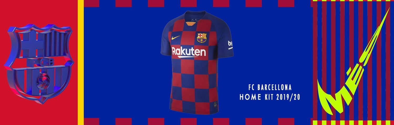FC Barcellona Home kit  Nike 2019/20